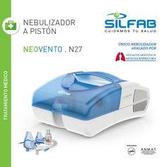#Nebulizador  a Pistón NEOVENTO de SILFAB  #SILFA - Productos Pensados para tu #Bienestar