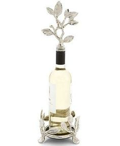 Bring your next dinner party to life with a floral wine stopper by Michael Aram