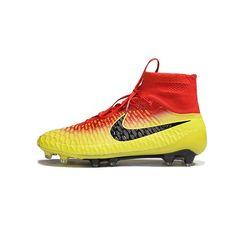 competitive price 24c8f 5c650 Nike Magista Obra FG - Total Crimson Black Bright Citrus