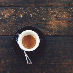 Espresso, Las Ranas El Salvador, @head1stcoffee in Amsterdam. Excellent! #headfirstcoffee - (by @O N a hazy morning... by Joyce de Lange)