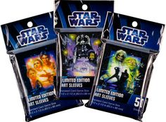 Fantasy Flight Games [News] - STAR WARS Art Sleeves Are Now Available