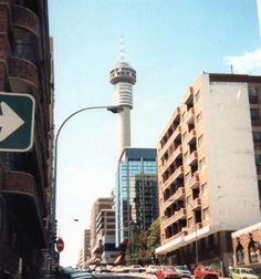 Hillbrow Tower Johannesburg Skyline, Art Deco, Water Sources, African History, The Good Old Days, Old Pictures, South Africa, Landscape Photography, Places To Go