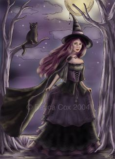 """Magick Wicca Witch Witchcraft:  """"Witchy,"""" by Rebecca Cox."""