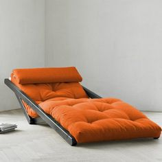 Save space by converting from a chaise lounge to a low bed.