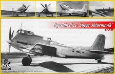 "Ilyushin ""Super Shturmovik"" by Unicraft Russian Air Force, Dieselpunk, Fighter Jets, Aviation, Aircraft, Cool Stuff, Vehicles, Depressed, Planes"