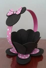 Best 12 mickey et minnie – SkillOfKing. Minnie Mouse Theme Party, Minnie Birthday, Mickey Minnie Mouse, Mouse Parties, Kids Crafts, Foam Crafts, Easter Crafts, Diy And Crafts, Birthday Decorations