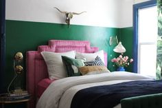 Color palette Emily Henderson | guest room makeover