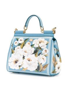 Shop designer tote bags for women at Farfetch for of designs from your favourite designer brands. Unique Handbags, Purses And Handbags, Fashion Handbags, Fashion Bags, Dolce & Gabbana, Womens Designer Purses, Painted Bags, Boho Bags, Cute Purses