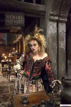 Les Misérables Hmmm... there is a sign above her head saying beware of pick pockets... when that's all they do