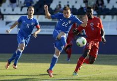 Italy versus Haiti in friendly. Read on it! Haiti Soccer, Polo Team, Basketball Court, Racing, Italy, Sports, Running, Hs Sports, Italia