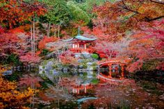 Tempel Daigo-ji Kyoto, Japan