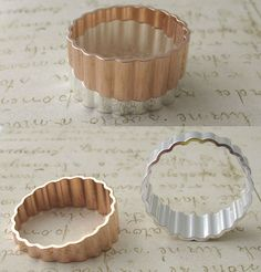 Fluted Stacked Rings from Erica Weiner