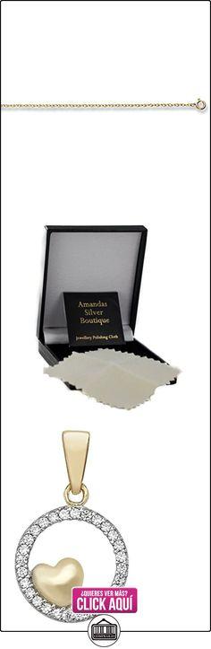 Amandas Silver Boutique Niños    oro amarillo 9 quilates (375)     circonita  ✿ Joyas para niñas - Regalos ✿ ▬► Ver oferta: http://comprar.io/goto/B01LYPDL8C