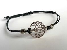 TREE of LIFE BRACELET String Bracelet Charm by PupikJewelry