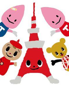 ノッポン兄弟に仲間が?東京タワーキャラクターの新ブランドT333T (ティー・スリー・ティー)が誕生!オリジナルグッズ好評販売中です。 | 東京タワー TokyoTower オフィシャルホームページ