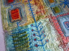 Really a lovely blog with textiles (select the icon on left)