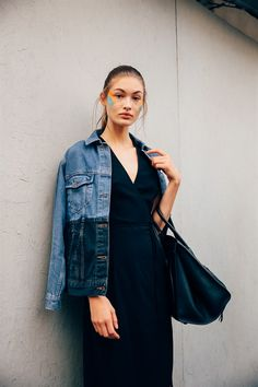 GRACE ELIZABETH - Model's look: lo stile delle modelle alle sfilate di Milano - Vogue.it - SS17 MFW