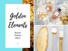 Golden Elements – Gold, die Farbe für Wärme und Behaglichkeit Fashion Beauty, Gold, Color