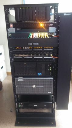 Crazy installation of a home network system. Great cabling job!