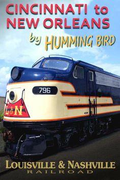 L&N Railroad travel poster for The Hummingbird passenger train.