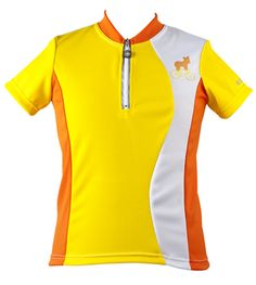baby bike jersey yellow safety colors