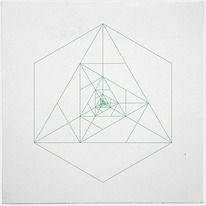 #243 Antenna – A new minimal geometric composition each day — Designspiration