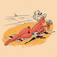 pin up babes Vintage Comics, Vintage Art, Vintage Pins, Illustrations, Illustration Art, Dibujos Pin Up, Pin Up Drawings, Drawn Art, Sexy Cartoons
