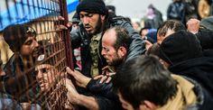 New refugee camps go up inside Syria
