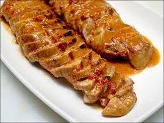 Arista di maiale con salsa di mele Buon San Valentino il secondo del menù di Gioia #gioiaincucina