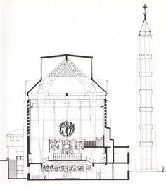 Chiesa di San Gregorio VII / Mario Paniconi e Giulio Pediconi / 1958-62