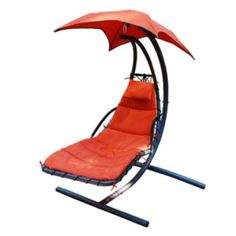Algoma Cloud 9 Hanging Chaise Lounger (orange)