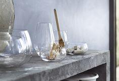 IKEA VIKTIGT saladiers et coupelles en verre soufflé bouche par la designer Ingegerd Råman