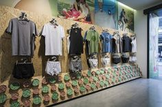Brokula Z experience store by Brigada Zagreb Photos above display (lifestyle and close up on product)