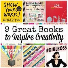 9 great books to inspire creativity