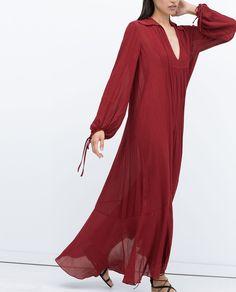 LONG STUDIO DRESS-Woman-IT'S DRESS UP TIME   ZARA United States