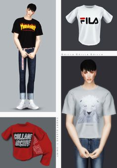 Short Sleeve T-Shirt for The Sims 4