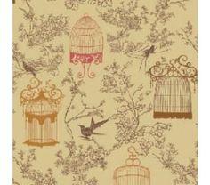 Tecido para Patchwork  Nesting Place Vintage
