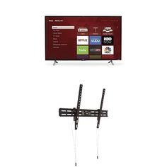 """TCL 43"""" 1080p Roku Smart LED TV Heavy-Duty With Tilting Wall Mount ORIGINAL  #TCL"""