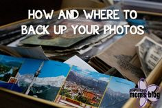 A step by step guide to how to backup your photos and suggestions on online photo hosting/storage sites.