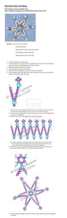 Beaded Snowflake PATTERN
