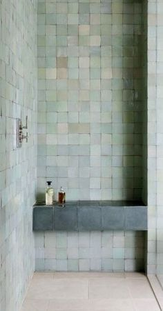 37 ideas bath room shower seat small spaces for 2019 Attic Bathroom, Small Bathroom, Master Bathroom, Shower Bathroom, Bathroom Goals, Bathroom Colors, Bathroom Organization, Bathroom Ideas, Bathroom Interior Design
