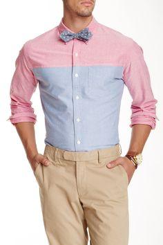 Oxford Standard Fit Novelty Shirt on HauteLook