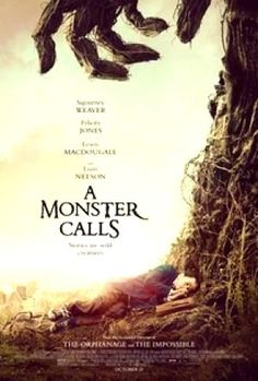 A Monster Calls is definitely one of the most unusual and toughest films to market to theater patrons in a long while. Starring newcomer Lewis MacDougall, Sigourney Weaver, Felicity Jones (hot off of Rogue One) and Liam Neeson as the monster in the title, Liam Neeson, Streaming Movies, Hd Movies, Movies To Watch, Movies Online, Movie Film, Saddest Movies, Nice Movies, 2018 Movies