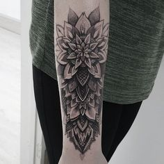 mandala forearm tattoo - Google Search