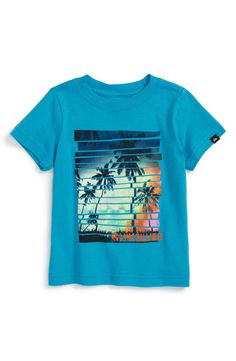 Quiksilver 'Lens Flare' Graphic T-Shirt (Baby Boys)