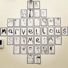 "Based off the book ""Marvelous Me""? Reggio Emilia Classroom, Reggio Inspired Classrooms, Reggio Classroom, Classroom Organisation, New Classroom, Preschool Classroom, Preschool Art, Reggio Emilia Preschool, School Displays"