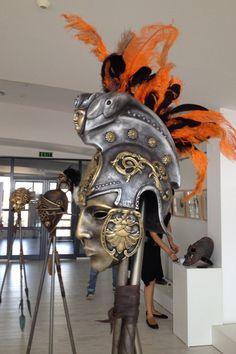 Roman Gladiator HelmetAncient Roman by BirdArtBulgaria on Etsy