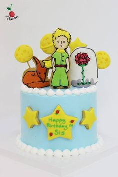 Le Petit Prince The Little Prince Birthday Cake Icing Cookies
