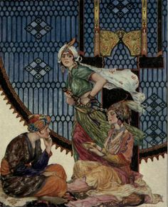 Find #Arabic #fairytales and #folklore at Fairytalez.com. Read 1001 Nights and more!