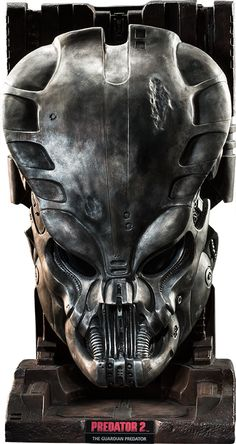 Guardian Predator Mask from Sideshow Collectibles Predator Cosplay, Predator Costume, Predator Helmet, Predator Alien, Aliens, Star Wars Collection, Movie Collection, Airsoft Mask, Cool Masks